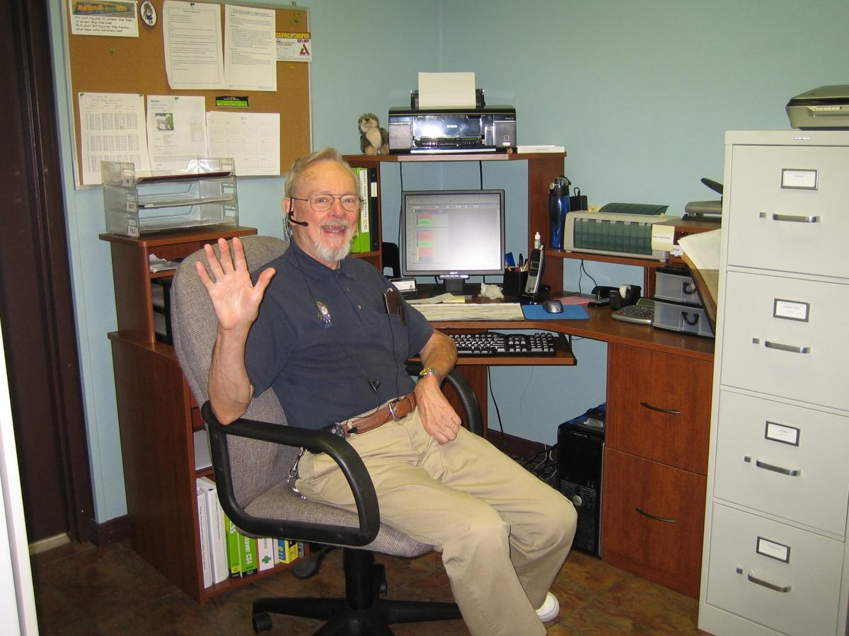 Bill in the office